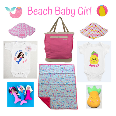 beach baby girl collection