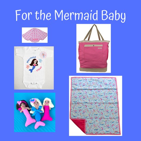 mermaid baby collection
