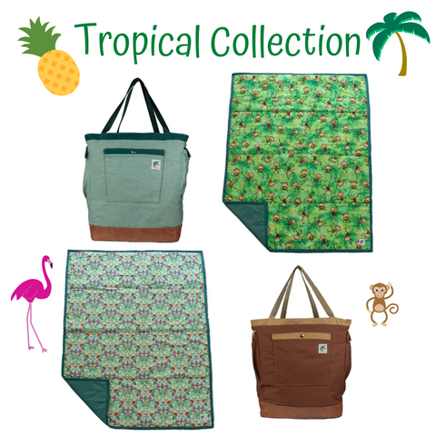 tropical baby collection