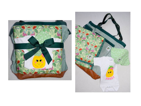 baby pineapple gift set