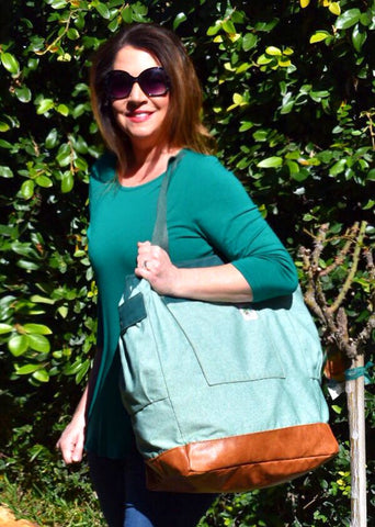 green bag for fall
