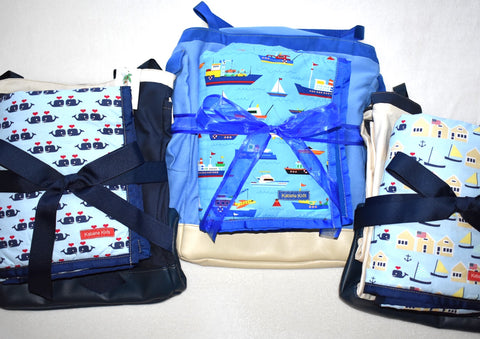 beach bag and mat sets