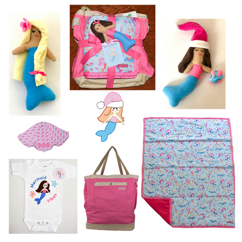 2020 christmas gifts, holiday gifts, for mermaid lover, mermaid themed gifts