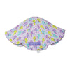 purple sea horse baby hat