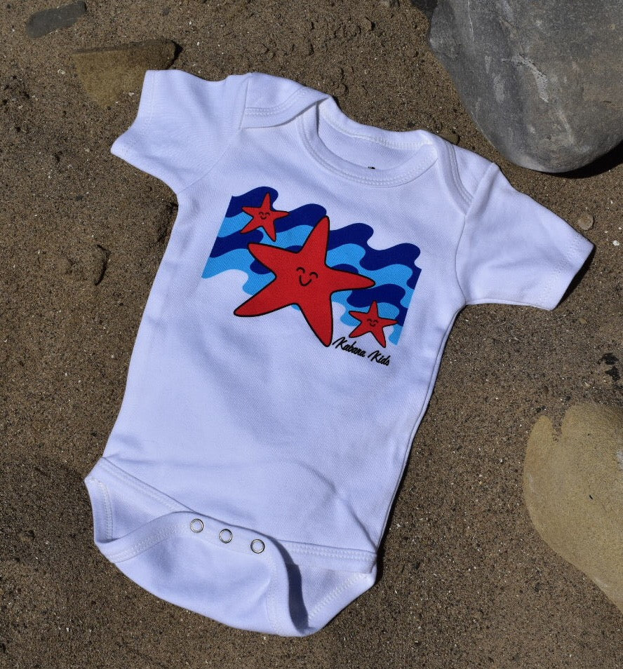 Kabana Kids Beachy Baby Bodysuit -- Stars and Stripes - Kabana Kids
