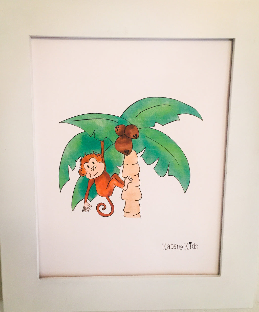 Printable - Tropical Monkey Digital Download