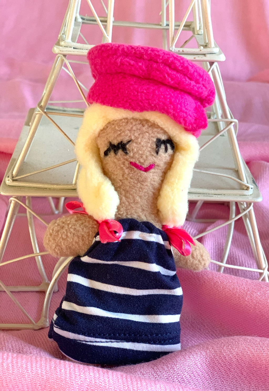Paris Girl Handmade Doll, Gigi