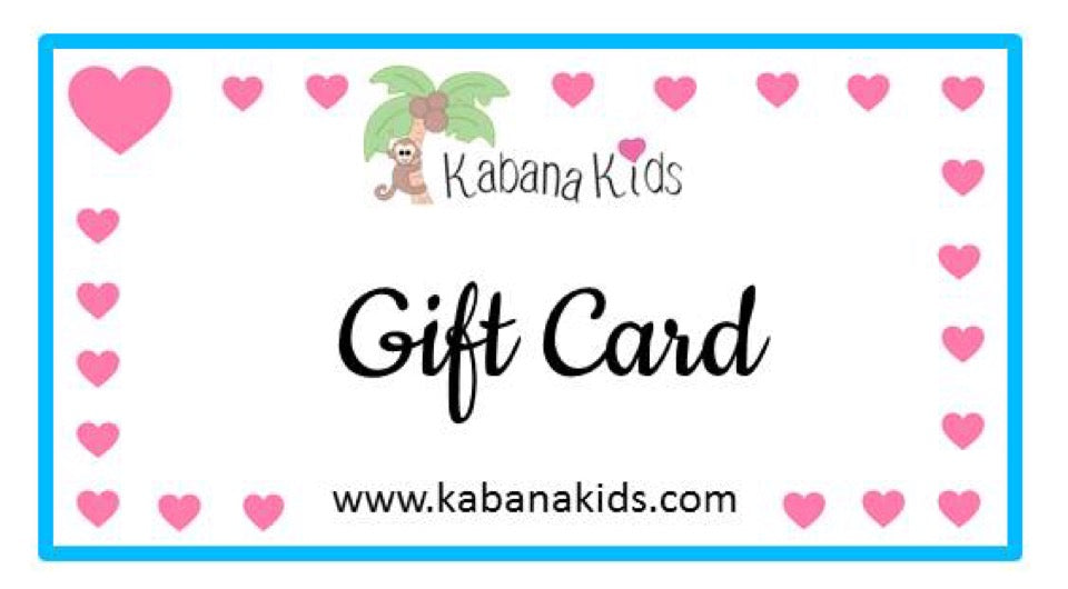 Kabana Kids Gift Card
