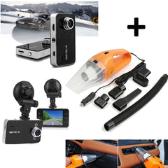 Camera video auto DVR HD 1080p, ecran 2.7 inch + Aspirator auto