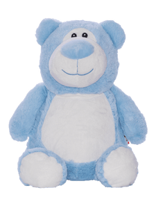 Personalised Teddy - Bear Blue - D'lighted