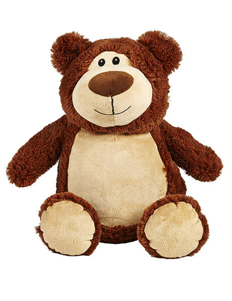 Personalised Teddy - Bear Brown - D'lighted