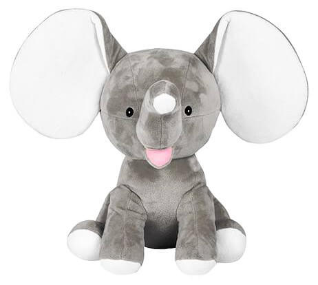 Personalised Teddy - Dumble Grey - D'lighted