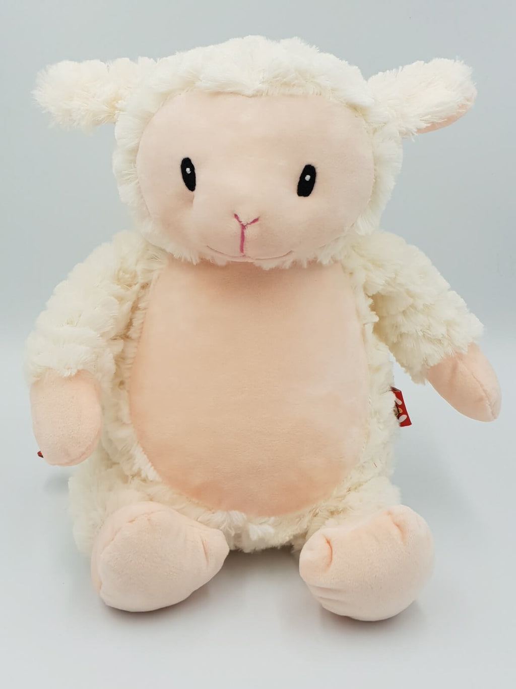 Personalised Teddy - Lamb - D'lighted