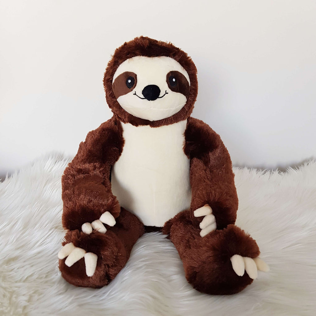 Personalised Teddy - Sloth - D'lighted