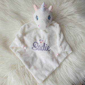 White Unicorn comforter