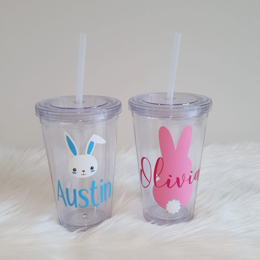 Personalised Easter Tumbler - Clear