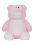 Personalised Teddy - Pink Bear - D'lighted