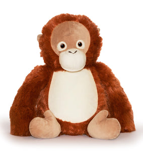 Personalised Teddy - Orangutan