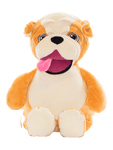 Personalised Teddy - Signature Bulldog - D'lighted