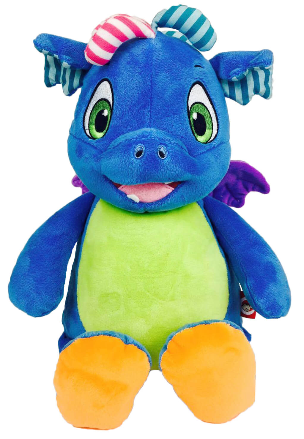 Personalised Teddy - Signature Blue Dragon - D'lighted