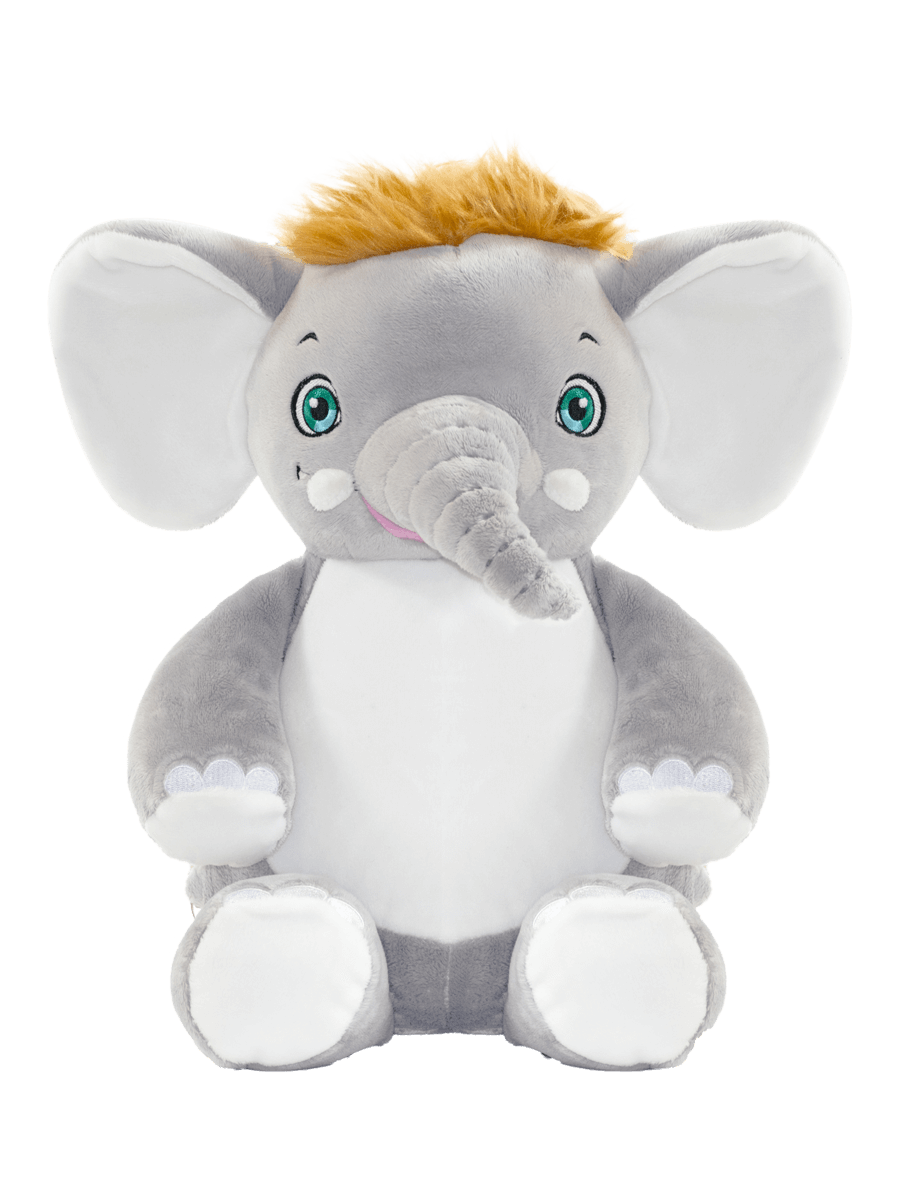 Personalised Teddy - Signature Elephant - D'lighted