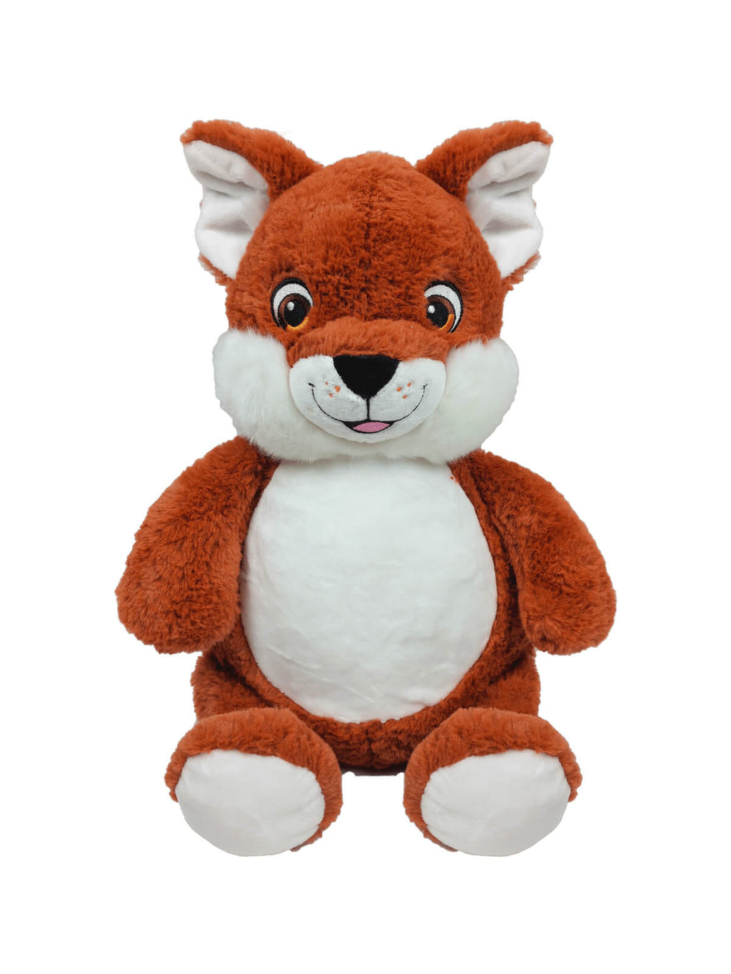 Personalised Teddy - Signature Fox - D'lighted