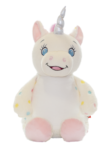 Personalised Teddy - Signature Unicorn