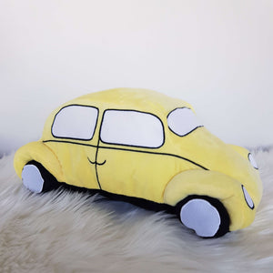 Personalised Big Yellow Car - D'lighted