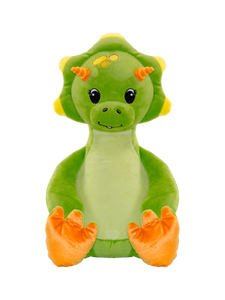 Personalised Teddy - Green Dinosaur