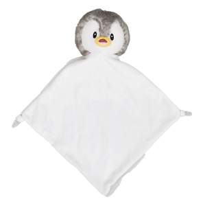 Grey Penguin Comforter
