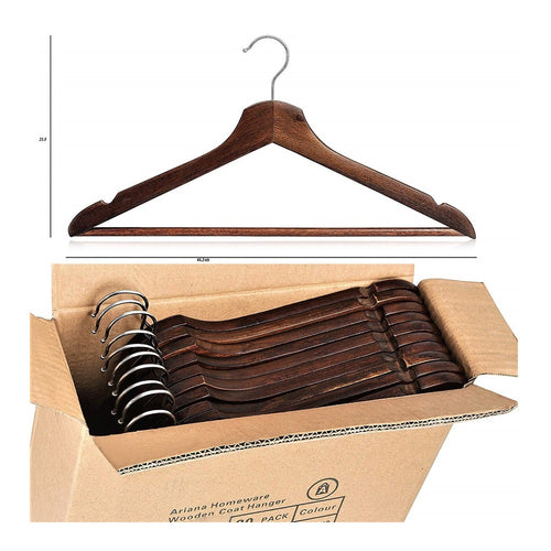 Antique Wooden Coat Hangers