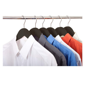 Black Wooden Coat Hangers