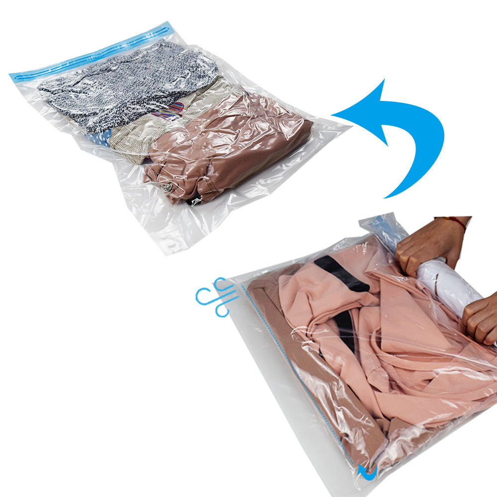 Vacuum Compressed Storage Space Bags [50 x 65 CM]