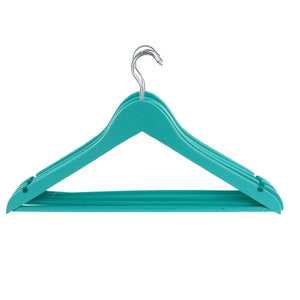 Light Blue Wooden Coat Hangers