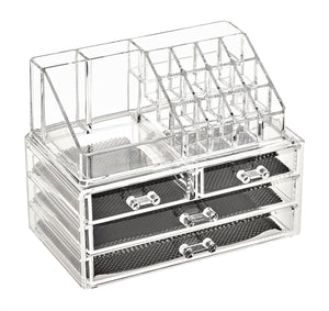 Clear Make Up Organiser