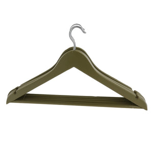 Olive Green Wooden Coat Hangers