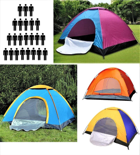 3 - 8 Person Camping Tent