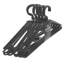 Load image into Gallery viewer, Heavy Duty Black Plastic Hangers