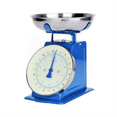 5KG Classic Kitchen Scale with Bowl [BLUE]