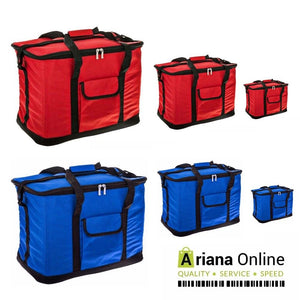 Portable Cooling Bag RED BLUE 15L 30L 60L Insulated Thermal