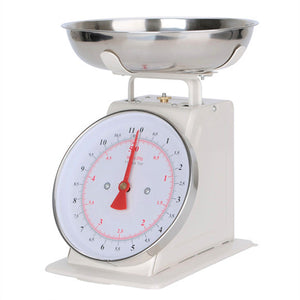 5KG Classic Kitchen Scale with Bowl [LIGHT GREY]