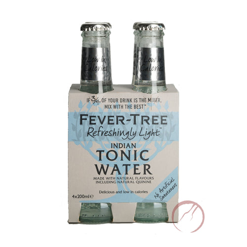 Fever Tree- Refreshingly light- Indian Tonic Water