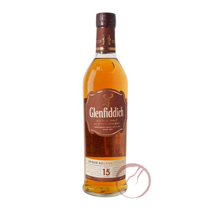 Glenfiddich 15 Year Old Solera Single Malt Whisky