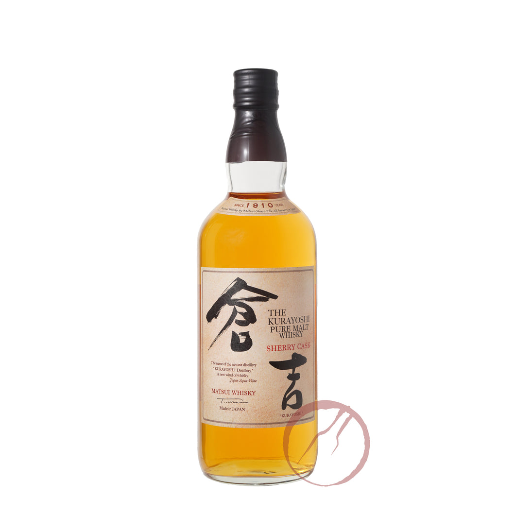 The Kurayoshi Pure Malt Whisky Sherry Cask
