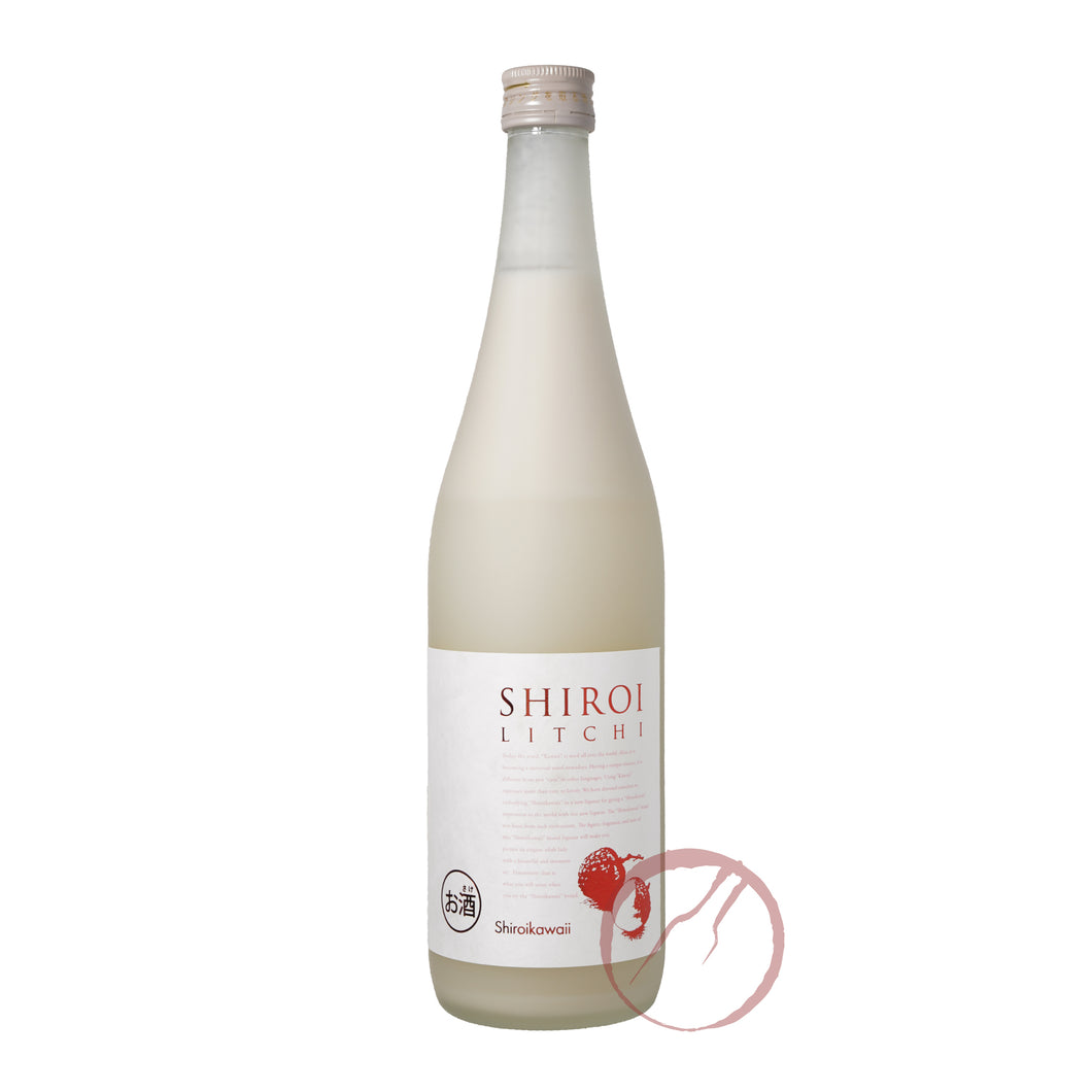 Chugoku Kawaii Shiroi Litchi 720ml