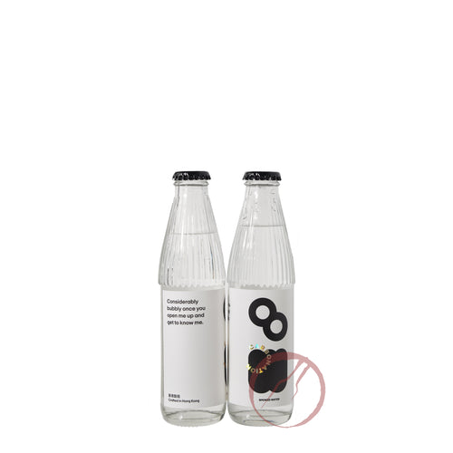 Carbonation smoked water