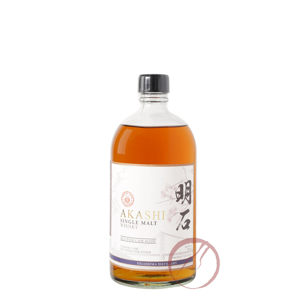 Akashi Eigashima Distillery Red Wine Cask #61592