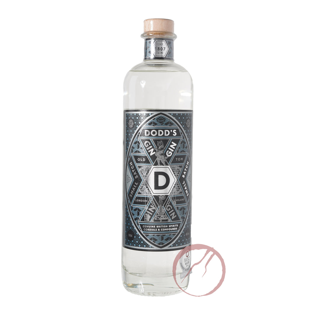 Dodd's Organic Old Tom Gin 500ml