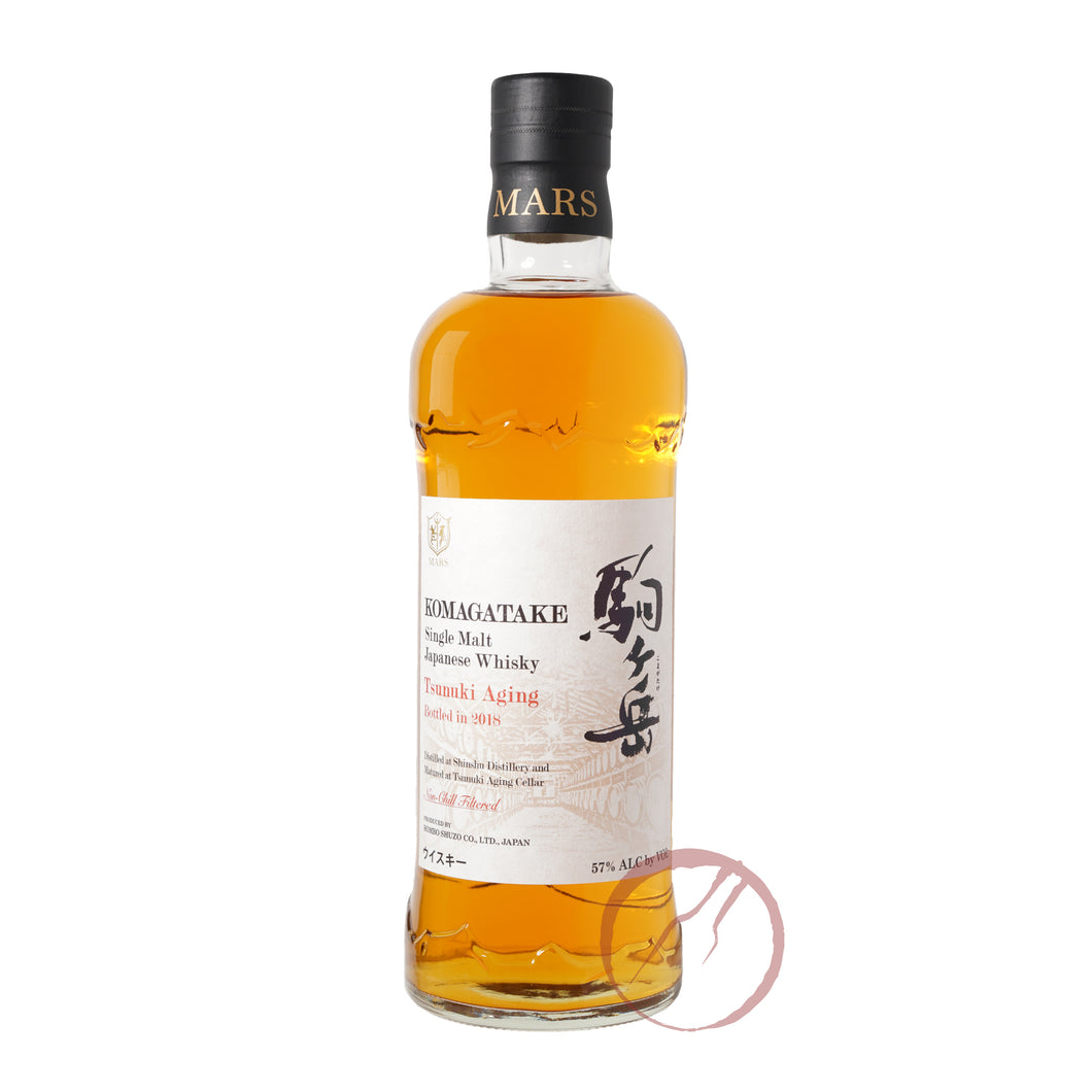 Mars Single Malt Komagatake Tsunuki Aging Bottled in 2018