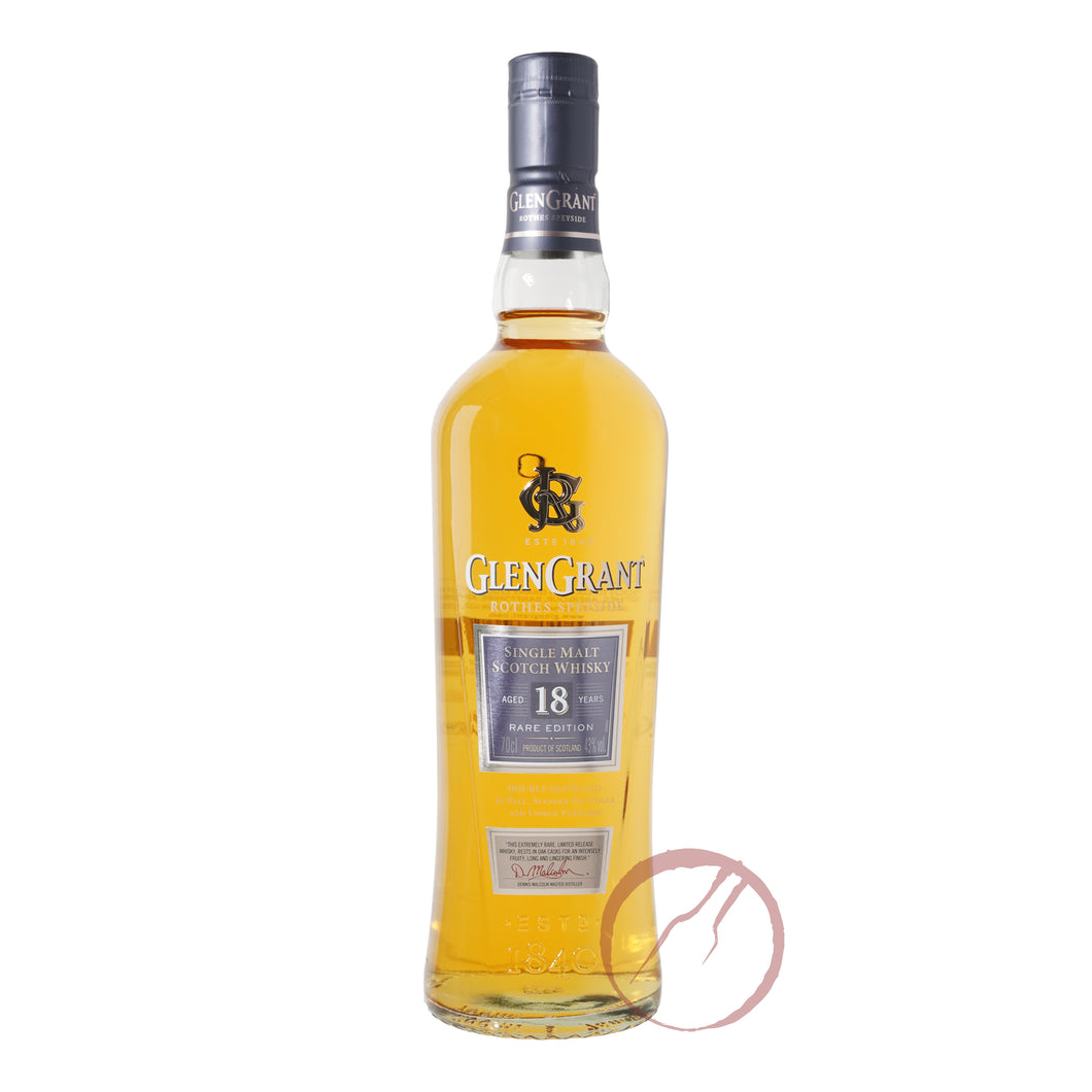 Glen Grant 18 Year Old Scotch Whisky